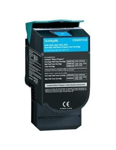 Toner Compatibili Lexmark C540H2CG C540H1CG Ciano