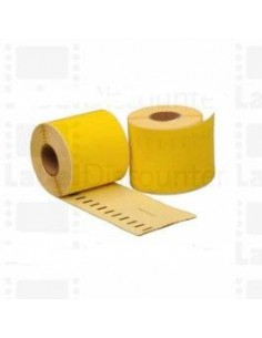Yellow 190mmX59mm 110psc for DYMO Labelwriter 400 S0722480