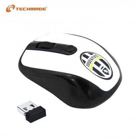 Techmade Mouse Wireless Juventus