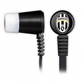 Techmade Auricolari Con microfono Con Tasto Funzione Juventus