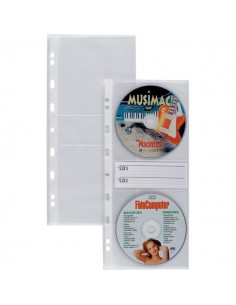 Buste porta CD/DVD Album Porta Cd/Dvd Disco 40 Sei Rota - 662508 (conf.10)