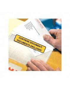 Buste autoadesive portadocumenti WillChip - scritta - 22x16 cm - 24x18 cm - A- A-741/S (conf.1000)