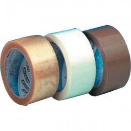 Nastro adesivo per imballo Sylene rumoroso Syrom - 50 mm x 66 m - bianco - 1236