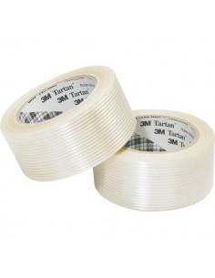 Nastro adesivo rinforzato Tartan™ 8930 Filament Scotch - 25 mm x 50 m - trasparente - 28105