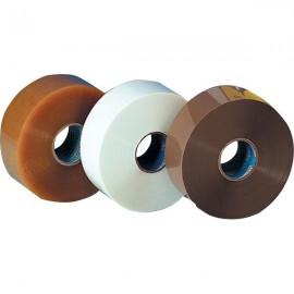 Nastro adesivo Bonus Tape Syrom - svolgimento rumoroso - 50 mm x 200 m - avana - 8542