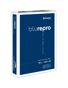 Repro FSC Burgo - Repro 80 Blu - 25,7x36,4 cm - 80 g/mq - 104um - 8138 (conf.5)