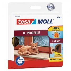 Guarnizioni adesive isolanti Tesa - marrone - 9mmx6m - 05393-00111-00