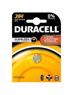 Pile Duracell Specialistiche - Bottone Ossido D'Argento - 394 - 394