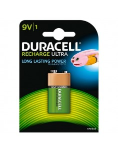 Pile Ricaricabili Duracell Accu - transistor - 9V - HR9VB1