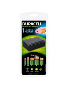 Caricatore universale o rapido Duracell - Universale - AA/AAA/C/D/9V - 6/8 ore - CEF 22