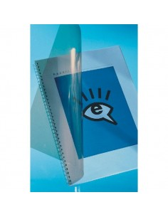 Copertine in PVC per rilegatura GBC - A4 - 150 µm - trasparente - CE011580E (conf.100)