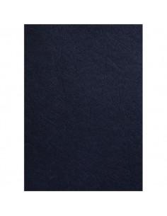 Copertine in cartoncino per rilegatura GBC - A4 - goffrato similpelle - nero - CE040010 (conf.100)