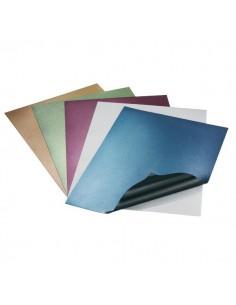 Copertine in cartoncino liscio per rilegatura GBC - bianco - CE080070 (conf.100)