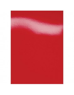 Copertine in cartoncino per rilegatura GBC - A4 - cartoncino lucido - rosso - CE020030 (conf.100)