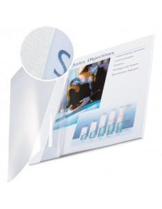 Copertine flessibili con fronte trasparente Esselte - 71-105 ff - bianco avorio - 74140001 (conf.10)