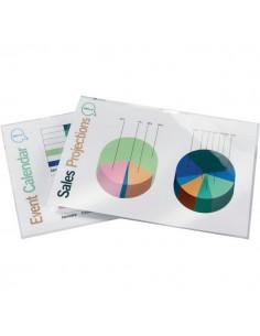 Pouches per plastificatrici GBC - 250 micron per lato - A4 - 3740449 (conf.50)