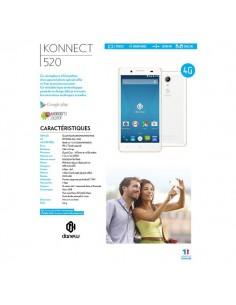 Smartphone konnect 520 Danew - Wi-Fi - 4G - KONNECT-520