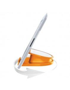 Base di appoggio rotante da tavolo Complete per iPad/tablet - arancione metallizzato - 62741044
