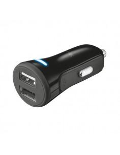 Trust caricatore da auto con 2 porte USB - 2x 5V. 2.4A - 19171