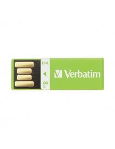 Chiavetta Store 'n' Go Clip-it 2.0 Verbatim - Verde - 43936
