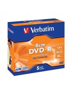 DVD Verbatim - DVD-R - 1,4 Gb - 2,4x - Mini DVD 8 cm - Slim case - 43510 (conf.5)