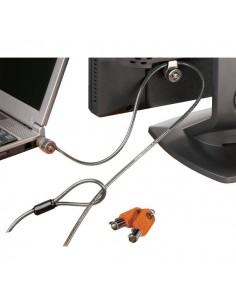 Cavo Microsaver Lock Kensington - Cavo di sicurezza con due lucchetti - 2,2 m - 64025