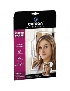 Carta fotografica Ultimate Canson - glossy - 270 g/mq - A4 - 200004330 (conf.20)