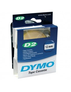 Nastri di supporto Dymo D2 - 12 mm x 10 m - bianco - S0721090