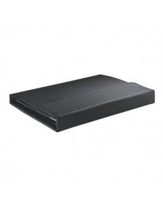 Custodia con cover e tastiera Leitz Complete Tech Grip per Nuovo iPad/iPad 2 (QWERTY) - nero - 63990095