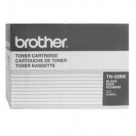Originale Brother TN-03BK Toner SERIE 03 nero