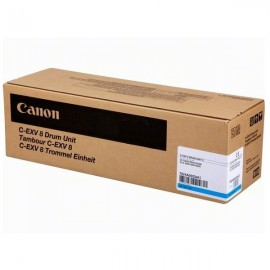Originale Canon 7624A002AB Tamburo C-EXV8 ciano