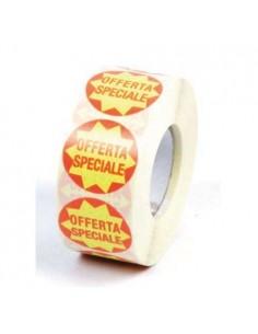 Rotolo 1000 Etichette adesive Offerta Speciale - diametro 50mm