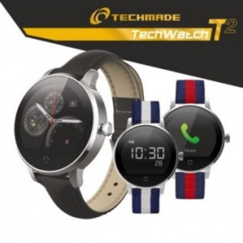 Techmade Smartwatch Techwatcht2-Bk Nero