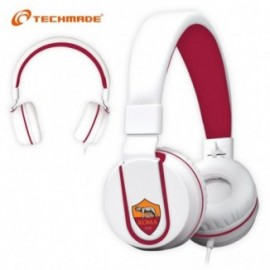 Techmade Cuffie Multimediali Ufficiali As Roma
