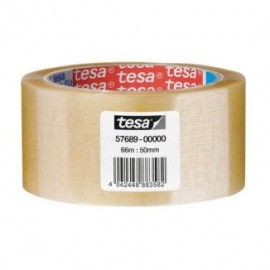 Nastro da imballo acrilico trasparente Tesa - 50 mm x 66 m - trasparente - 57689-00000-00 (conf.6)
