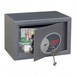 Cassaforte da mobile con chiusura a chiave Phoenix - valori e documenti - 31x20x20 cm - 4,5 kg - SS0801K