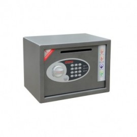 Cassaforte anti-rapina con chiusura elettronica Phoenix - 35x25x25 cm - 34x21x24 cm - 6,5 kg - SS0802ED
