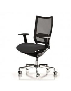 Sedia semidirezionale ergonomica CONCEPT UNISIT - similpelle - BIANCO - COT/KQ