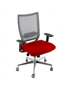 Sedia semidirezionale ergonomica CONCEPT UNISIT - similpelle - GRIGIO - COTXL/KG