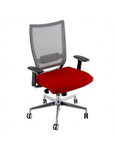 Sedia semidirezionale ergonomica CONCEPT UNISIT - pelle - BIANCO - COTXL/PQ
