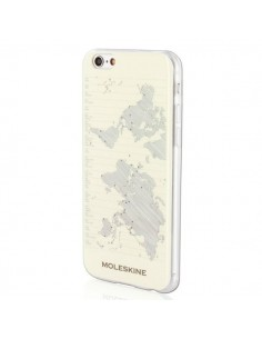 Custodie per iPhone Moleskine - Custodia rigida iPhone 6/6s - Journey - geografia - MO1JHP6GEO