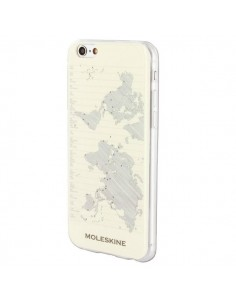 Custodie per iPhone Moleskine - Custodia rigida iPhone 6 Plus/6s Plus - Journey - geografia - MO1JHP6LGEO