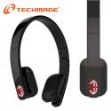 Techmade Cuffie Bluetooth Ac Milan