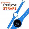 Techmade Cinturino Per Freetime In Gomma Blu