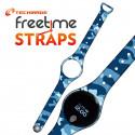 Techmade Cinturino Per Freetime In Gomma Camouflage1