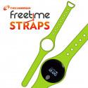 Techmade Cinturino Per Freetime In Gomma Green