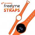 Techmade Cinturino Per Freetime In Gomma Orange