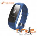 Techmade Bracciale Fitness 2.0 Blu