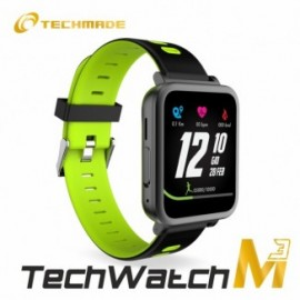 Techmade Techwatch M3 Mini Black/Gr Een