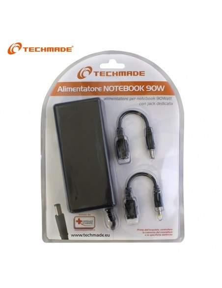 Techmade Alimentatore Universaleper Notebookhp Da 90 Watt